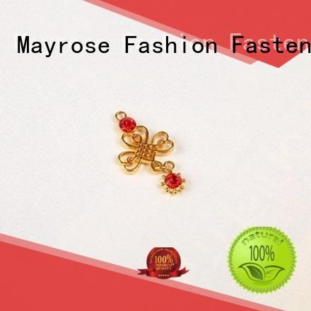 Custom pendent charms bra charms for lady dress
