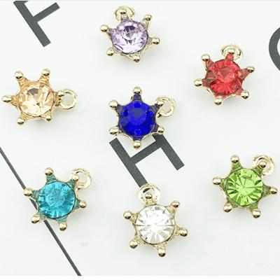 Mayrose-Best Bra Charms 1054 Coloured Crystal Rhinestone Hardware Decorations