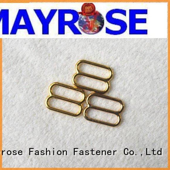 Wholesale shape size bra strap adjuster clip Mayrose Brand