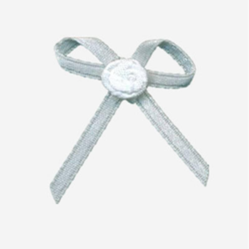 nylon ribbon bow #13 with flower