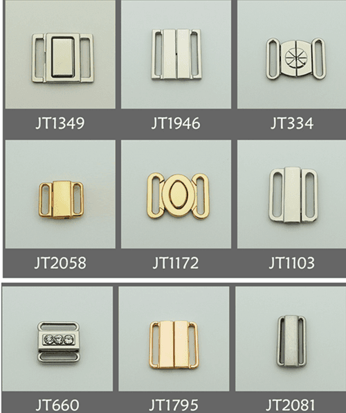 Zinc alloy adjuster front clasps JT collection