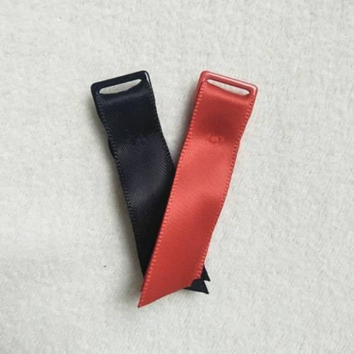 Nylon coated adjuster garter with satin 10R