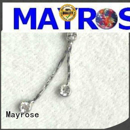 Mayrose 6638 iron pendant for decorate corset