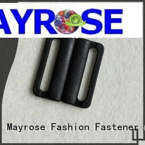 Mayrose colorful front bra closures with gold plating underwear