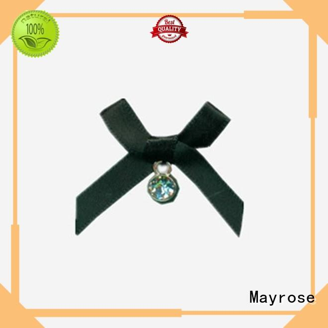 Mayrose 27 satin ribbon bows supply clothing