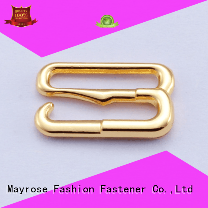 Mayrose Brand slider shape gold custom bra extender for backless dress