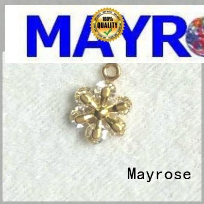 Mayrose colorful metal pendant for sale clothing