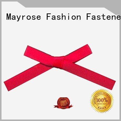 Quality wire ribbon bow Mayrose Brand rhinestone bra with bow