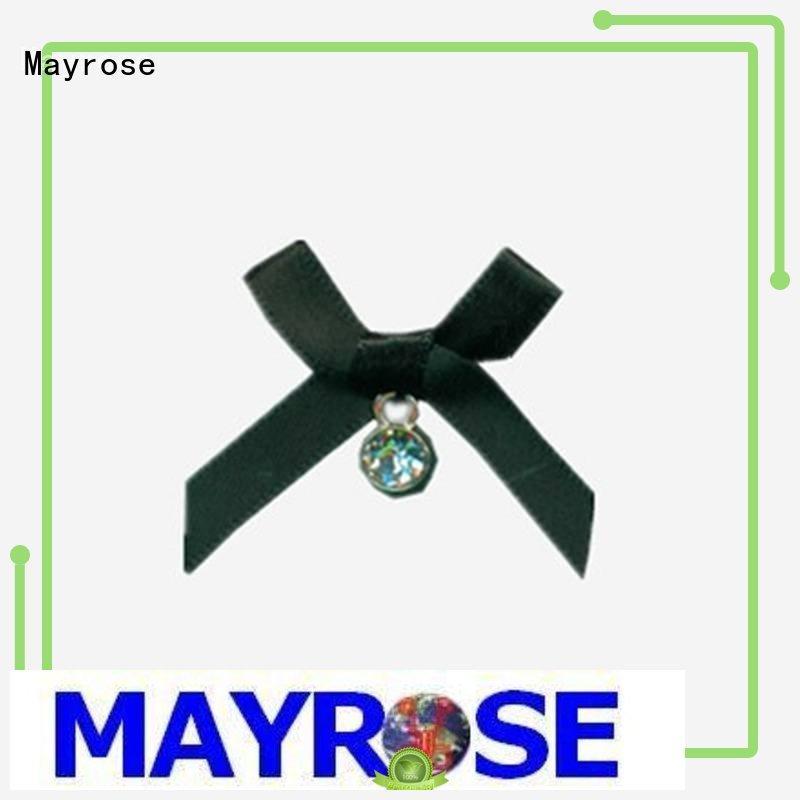 Mayrose handmade chiffon bow with flower Lingerie