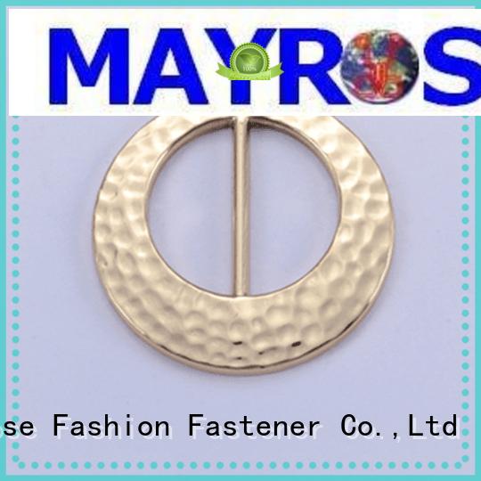shape golden buckle Mayrose Brand bra adjuster racerback factory