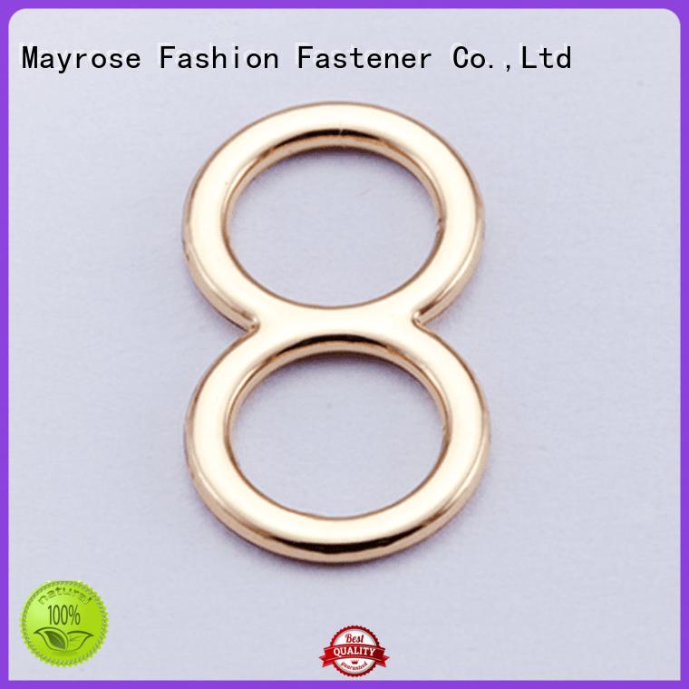 Mayrose Brand hook bra strap adjuster clip front factory