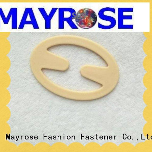 Plastic bra strap clips oval shape