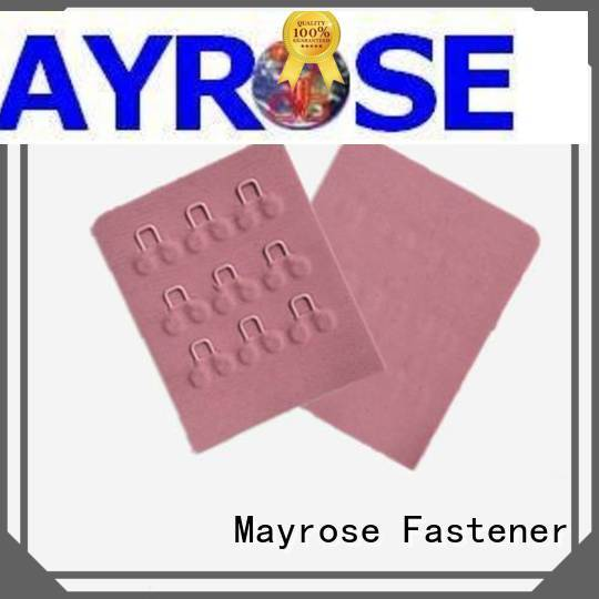 Mayrose 4x3 hook and eye closure for garment dressing