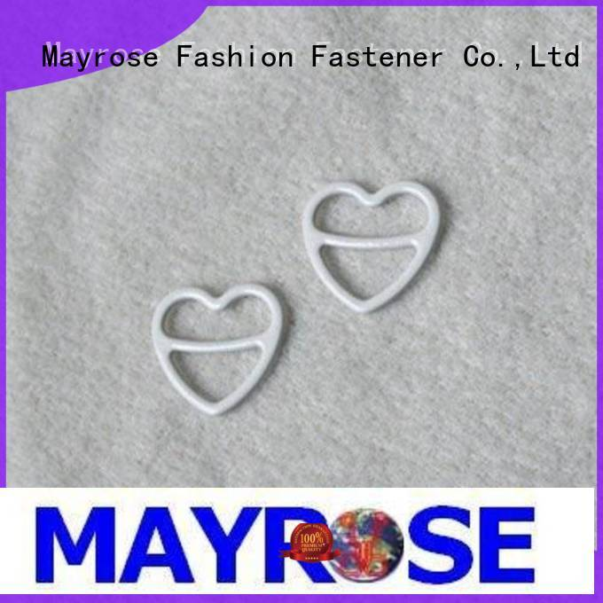 Mayrose coated bra adjuster low back from china for swimwear
