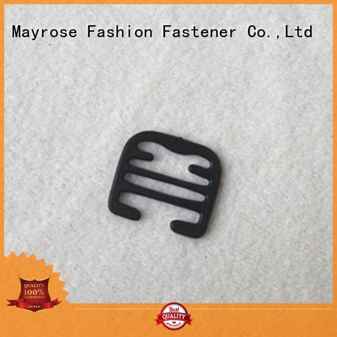 hook from plastic Mayrose Brand racer bra clips manufacture