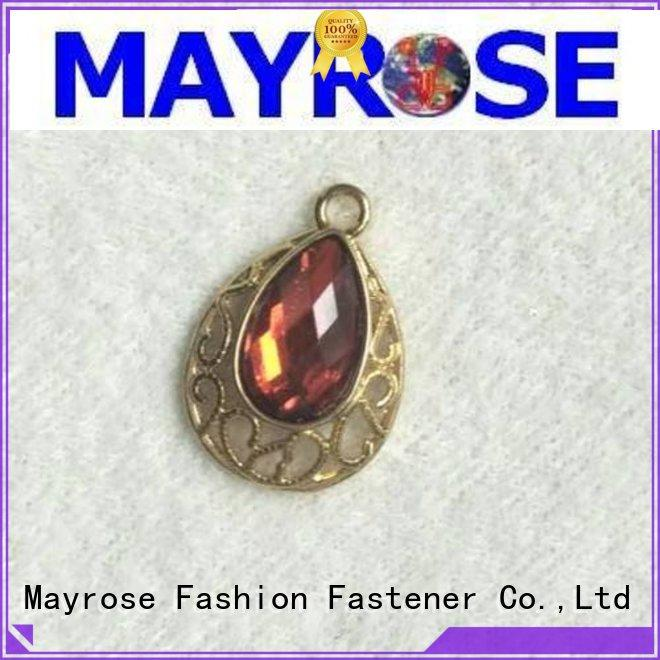 Mayrose practical metal pendant for decorate garment