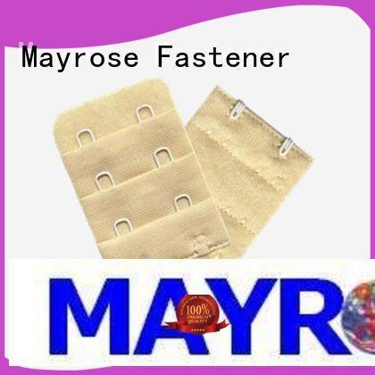 Mayrose hook and eye hardware bra accessories garment
