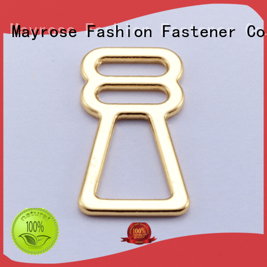 from gold OEM bra strap adjuster clip Mayrose