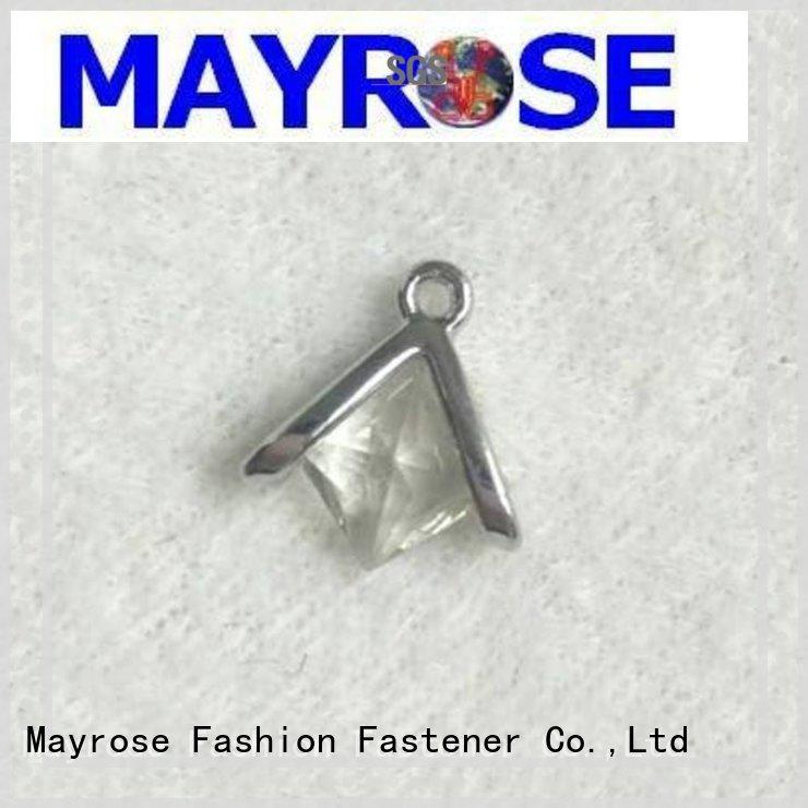 Mayrose colorful iron pendant factory garment