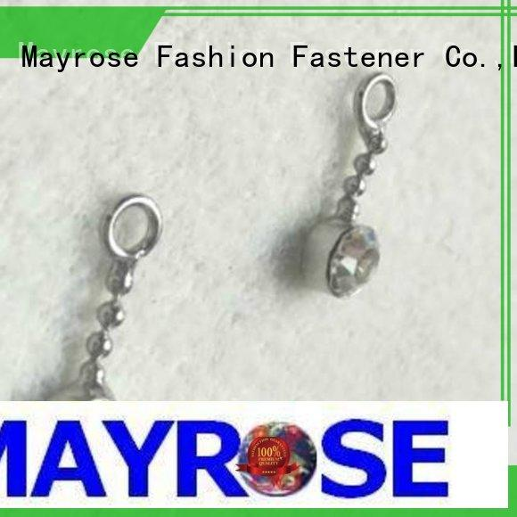 Mayrose decorative metal pendant factory costume