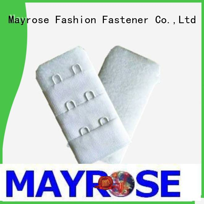 Mayrose inside hook and eye closure for corset bra