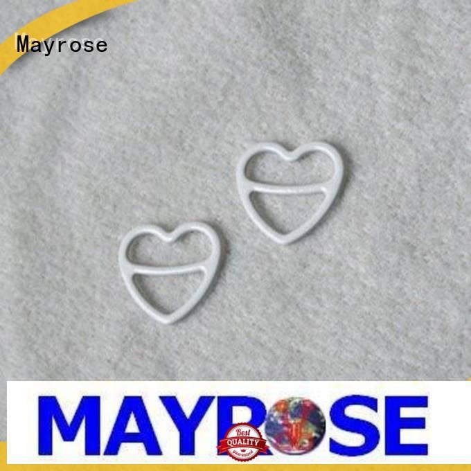 Mayrose clasps metal strap adjuster buckle for bra bra