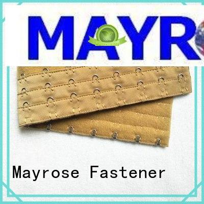 Mayrose stainless black hook and eye tape for sale clothing