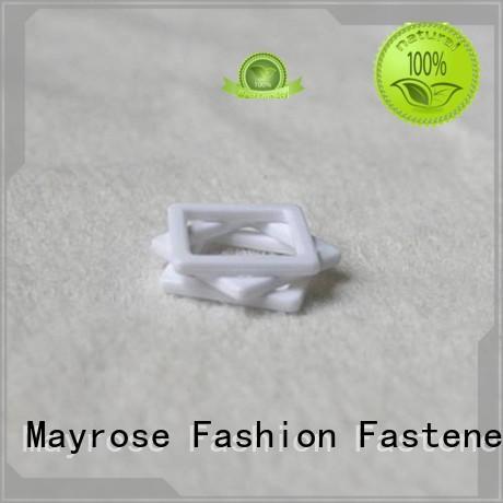 Mayrose Brand square ring from custom racer bra clips