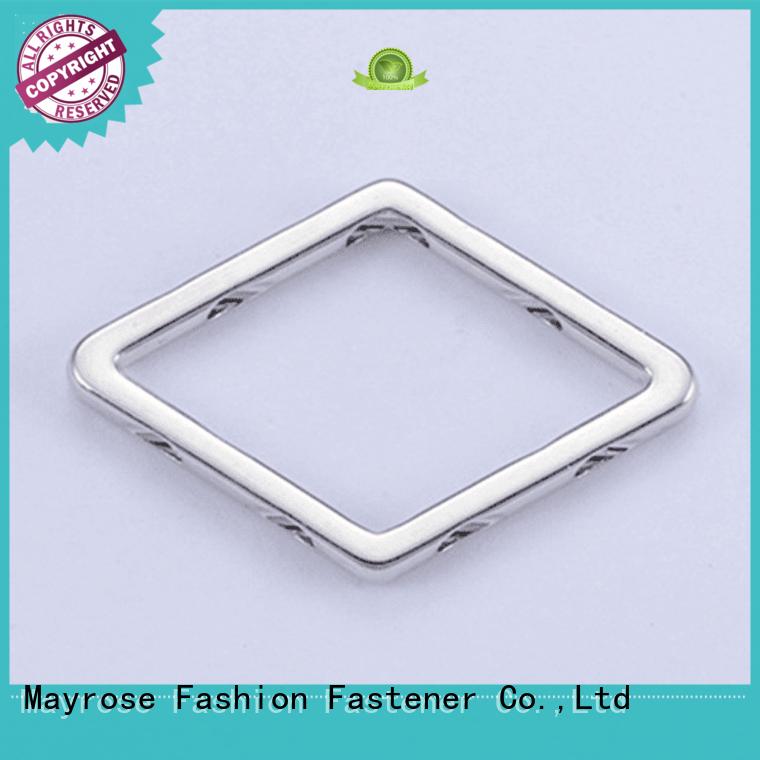 size speical bra strap adjuster clip ellipse square Mayrose company