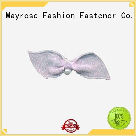 wire ribbon bow flower nylon pearls Mayrose